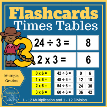 Times Tables Flashcards and Fun