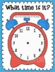 Time's Up! Task Cards & Play Dough Mat for telling time fr