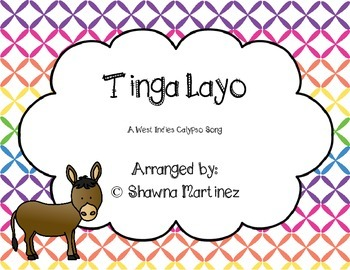 """""""Tinga Layo"""" a West Indies Calypso song with Orff arrangement"""