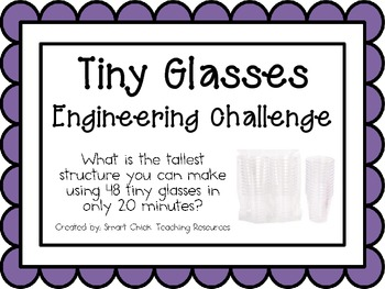 Tiny Glasses Structures: Engineering Challenge Project ~ G