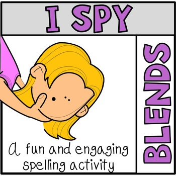 Tiny Word Spelling Hunt Blends