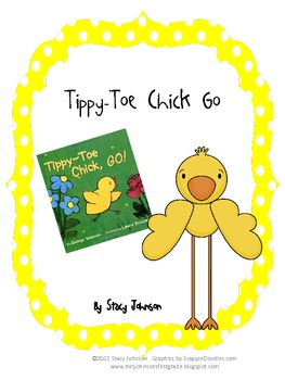 Tippy-Toe Chick Go Literacy Activities {FREE}