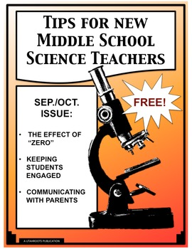 Tips For New Middle School Science Teachers Sept./Oct. Issue