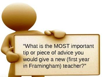 Tips for 1st year teachers!