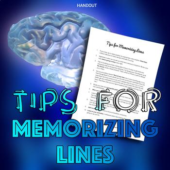 Tips for Memorizing Lines