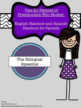 Tips for Parents of Preschoolers Who Stutter- Black and White