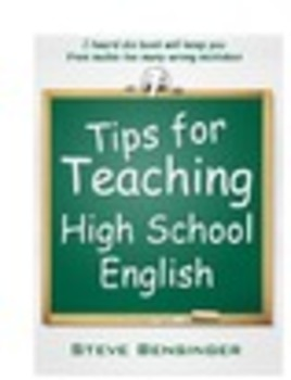 Tips for Teaching High School English