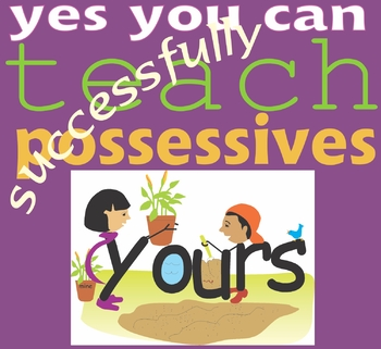 Tips for Teaching the Difference Between Possessives and Plurals