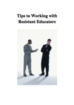 Tips for Working with Resistant Educators for Coaches and