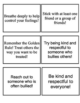 Tips on how to stop bullying!