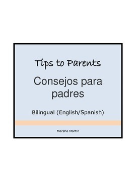 Tips to Parents in English and Spanish