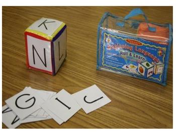 Tira, escribe y colorea (roll the dice)