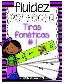 Tiras fonéticas para mejorar la lectura en español