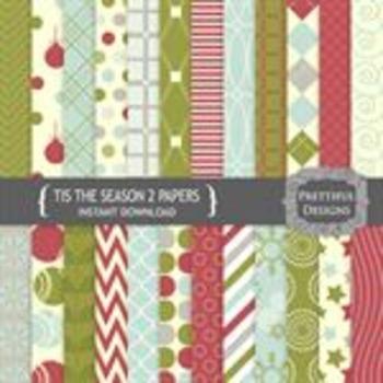 Tis The Season 2 Paper Pack