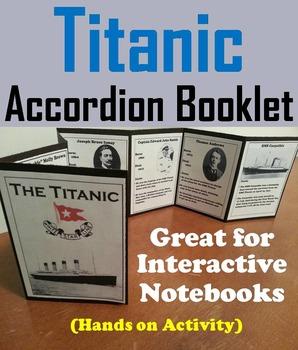Titanic Unit: Interactive Notebook Activity/ Foldable