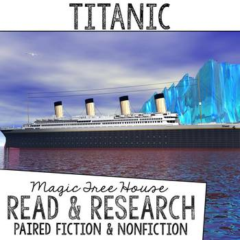 Titanic Foldable Novel Study Unit