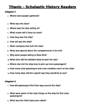 Titanic - Scholastic History Reader