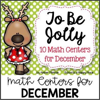 To Be Jolly {10 Math Centers for December}