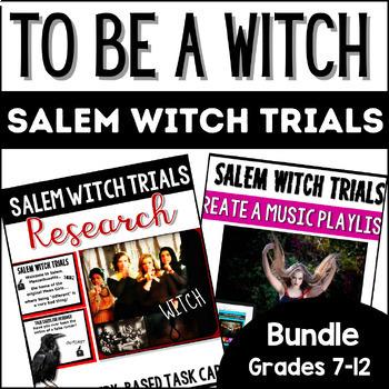 To Be a Witch: Salem Witch Trials Digital Teaching Bundle