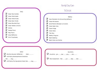 To Do List FDC