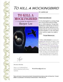 To Kill A Mockingbird Chapters 1-3 Check Quiz