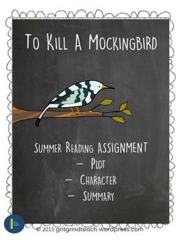 To Kill A Mockingbird Summer Reading