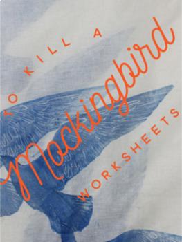 To Kill A Mockingbird Worksheets