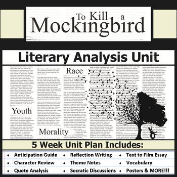 To Kill a Mockingbird Unit Bundle