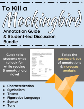 To Kill a Mockingbird Annotation Guide and Student-led Dis
