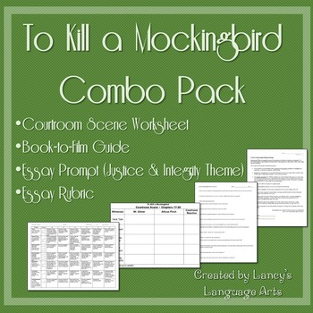 To Kill a Mockingbird Combo Pack