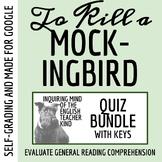 To Kill a Mockingbird Quiz Bundle