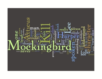 """To Kill a Mockingbird"" Inspired Classroom Art Literature Prints"
