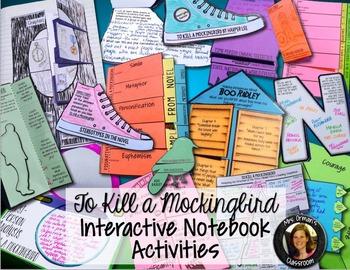 To Kill a Mockingbird Interactive Notebook - Common Core Aligned