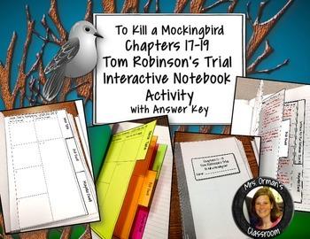 To Kill a Mockingbird Interactive Notebook Trial Organizer