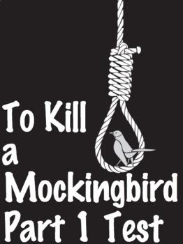 To Kill a Mockingbird Part 1 Test - Scantron Test with Answer Key