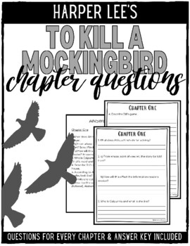To Kill a Mockingbird Questions for Every Chapter