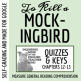 To Kill a Mockingbird Quiz (Chapters 12-13)