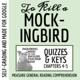 To Kill a Mockingbird Quiz (Chapters 4-5)