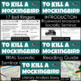 To Kill a Mockingbird Complete Unit Plan With Lesson Plans