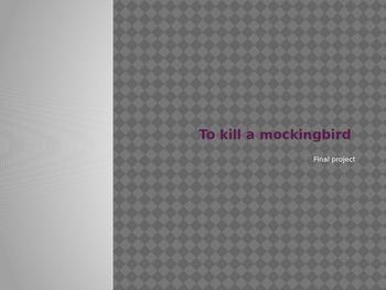 To Kill a Mockingbird Unit Project Mock Trial