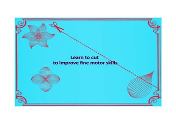 To improve kids cutting skills
