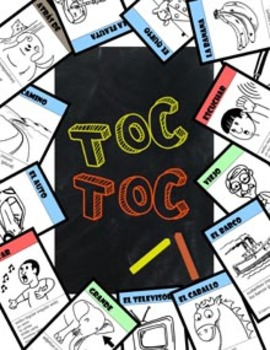Toc Toc Spanish learning card game