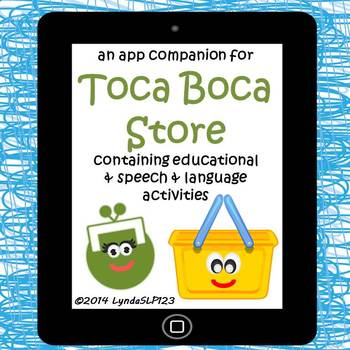Toca Boca Store: app companion for literacy & language