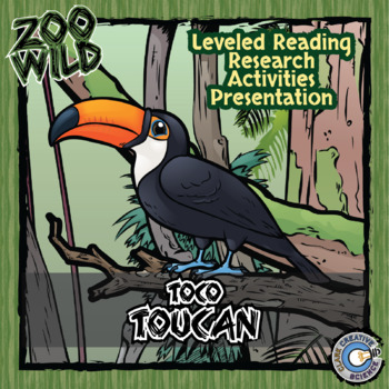 Toco Toucan -- 10 Resources -- Coloring Pages, Reading & A