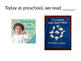 Today at Preschool - Powerpoint for Reflection, Home Commu