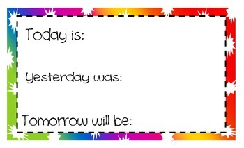 Today is......