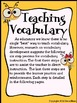 Vocabulary: Today's Buzzword ~ A Complete Unit For The Ent