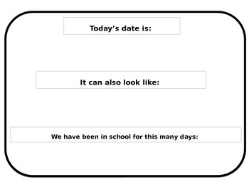 Today's date is