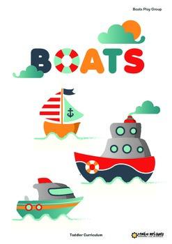 Toddler Curriculum - Boats