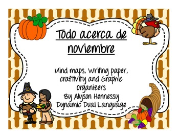Todo acerca de noviembre-Spanish activities for November